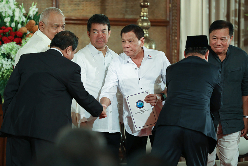 After much hesitation, Duterte certifies BBL as urgent