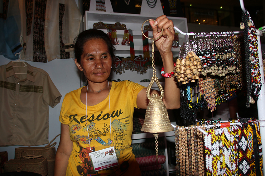 Indigenous crafts, products on display at Mindanao Trade Expo '17