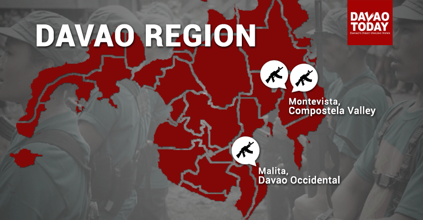 NPA killed, soldier wounded in series of clashes in Davao region