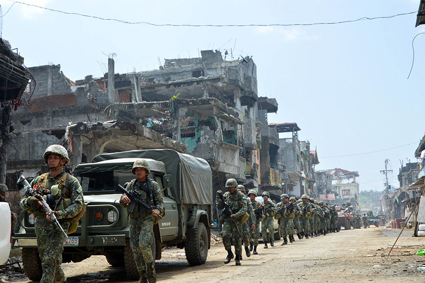 Moro leaders oppose plan to build military camps in Marawi