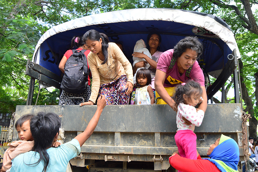 Officials fear increase of evacuees in Misamis Oriental  as fighting between NPAs, gov't intensifies