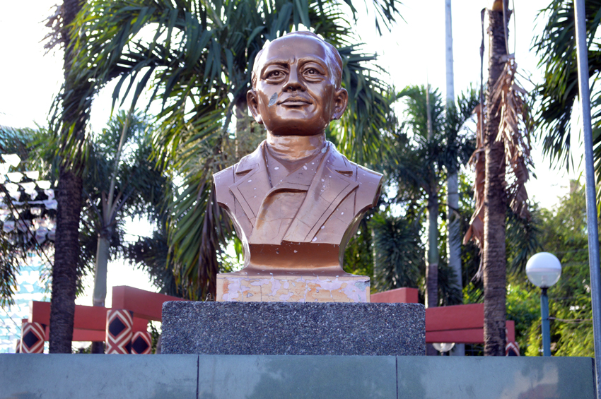 In Davao, a park 'quietly' honors Indonesian hero