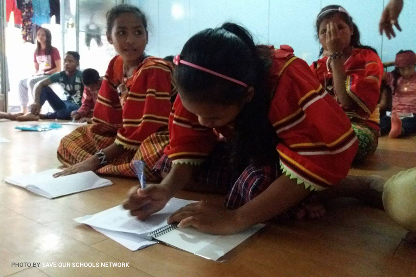 Lumad education 'fascinates' Manila teacher