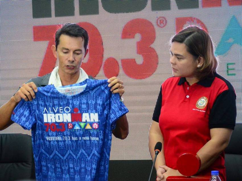 Davao raising P30M for PH's biggest Ironman race