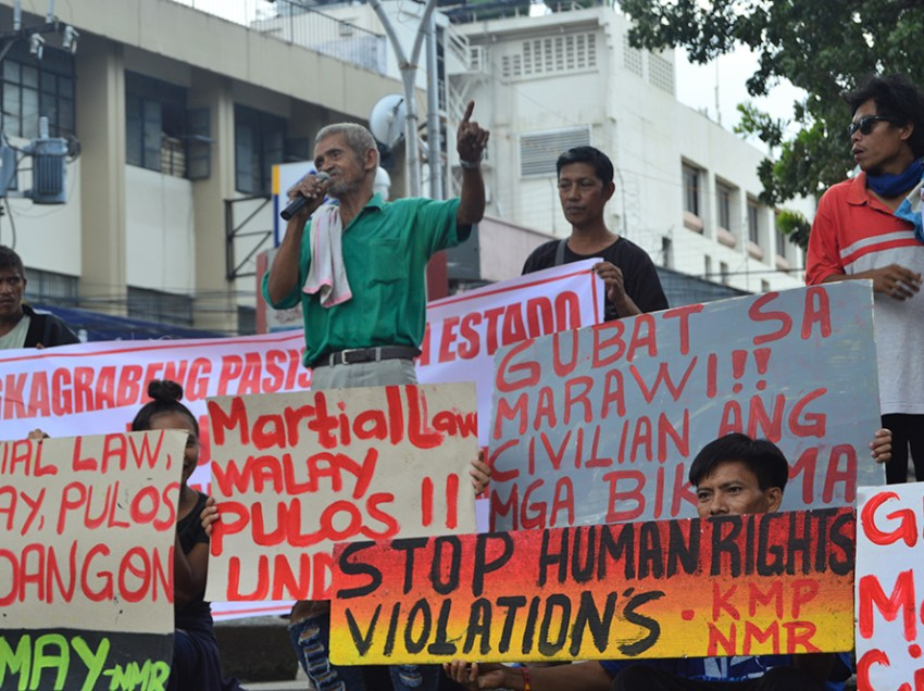 Millennials, elders join martial law protest
