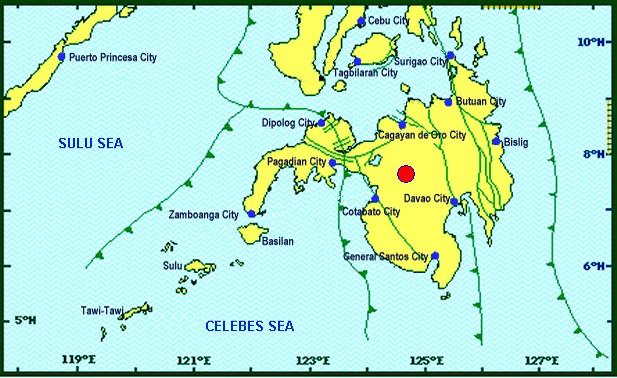 Magnitude 5.4 natural disaster  hits Lanao del Sur