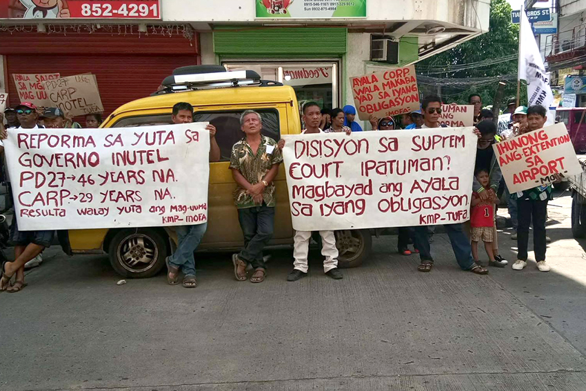 Ayala says benefits given to MisOr farmers, but…