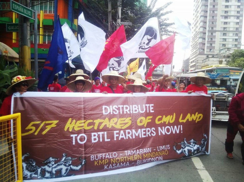 Peasant leader doubts CMU farmers' land ownership with pending GARB
