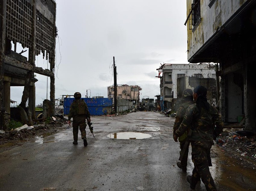 IN PHOTOS: Marawi after its 'liberation'