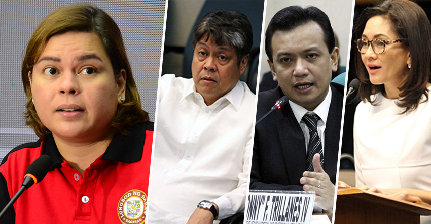 Sara Duterte to 3 opposition solons: Don't use my father for your political agenda
