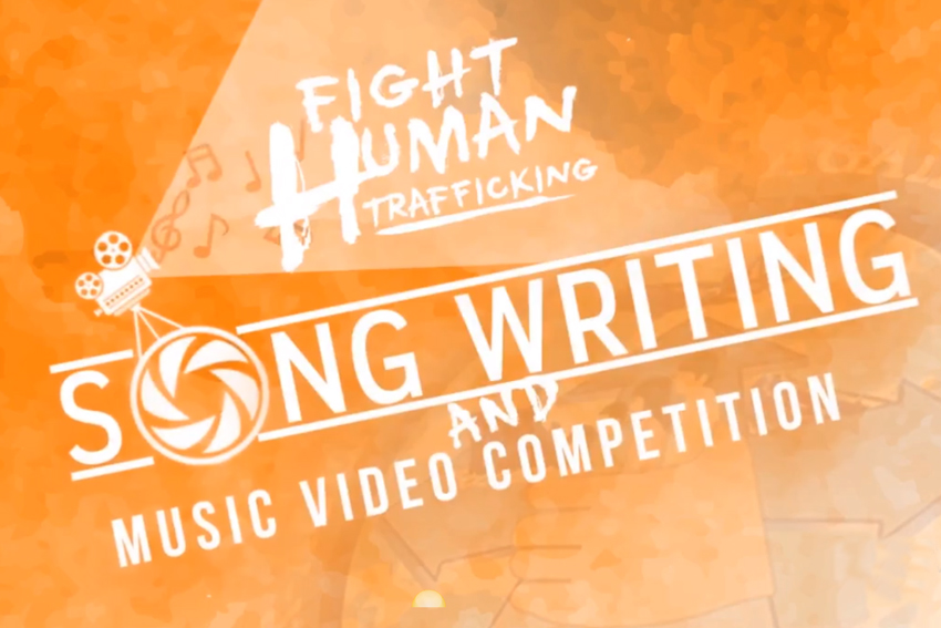 Anti-human trafficking song, music video tilt opens for amateurs