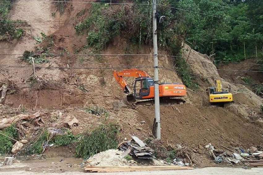 Clearing operations in Davao's Diversion Road set for completion today