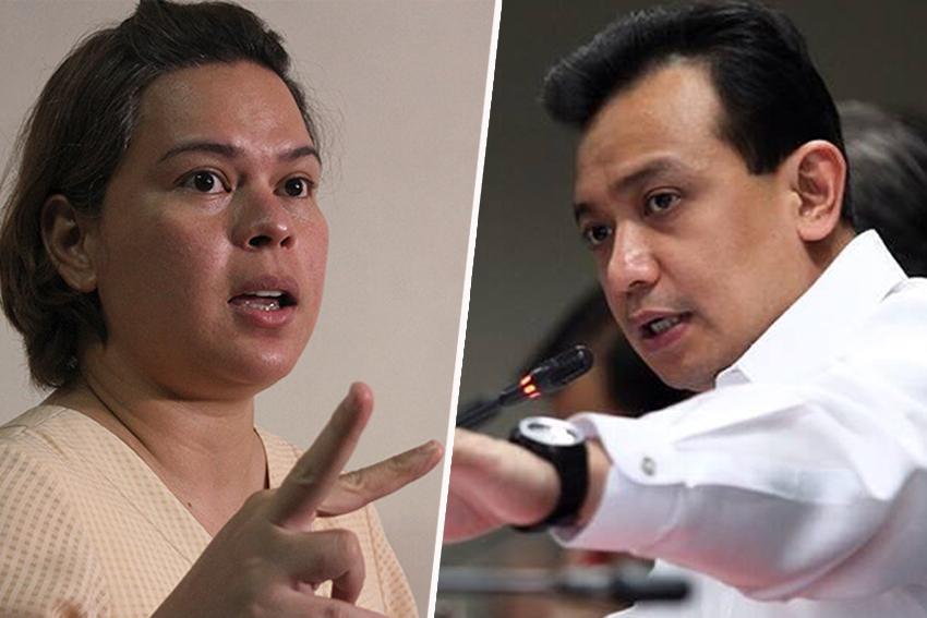 Sara Duterte calls Senator Trillanes 'Pinocchio', tells  him to 'show your balls'