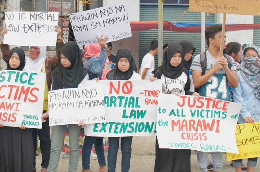 Tindeg Ranao slams gov't for harassment of Marawi evacuees