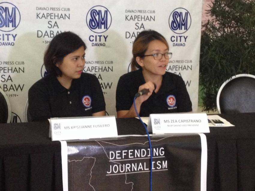 NUJP to launch book tackling journos security  in Davao
