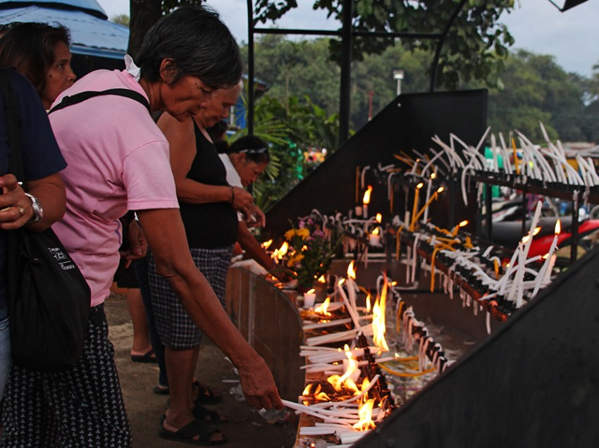 IN PHOTOS: Peaceful 'Undas' in Davao region