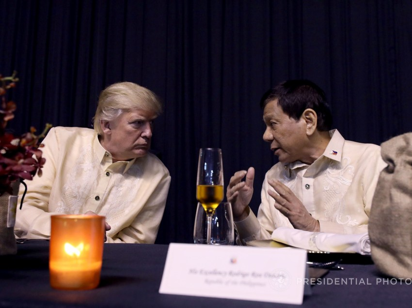 TRUMP MEETS DUTERTE