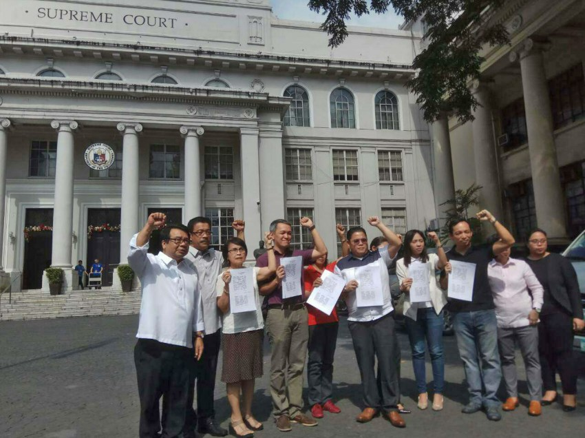 Progressive lawmakers ask SC for TRO on martial law extension