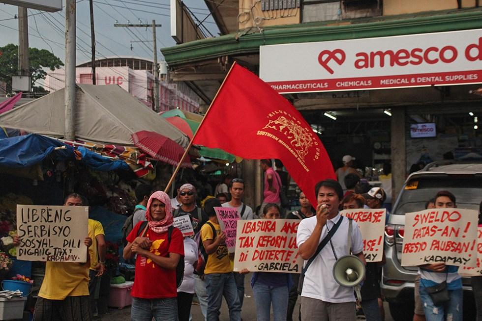 TRAIN Law-Protest-davao