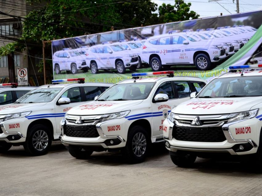 Duterte reminds cops: new Japan cars not for personal use
