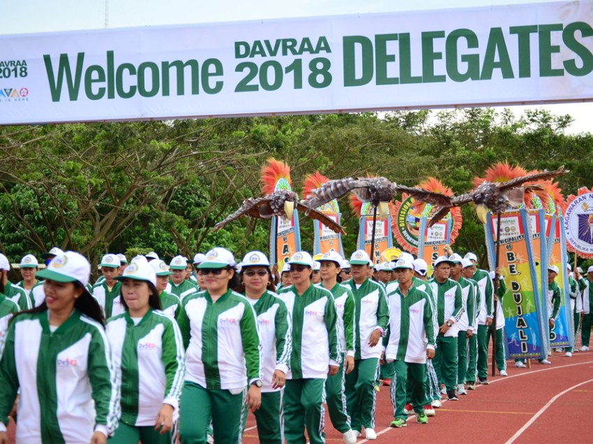 IN PHOTOS: DAVRAA Meet 2018 kicks off in President's hometown