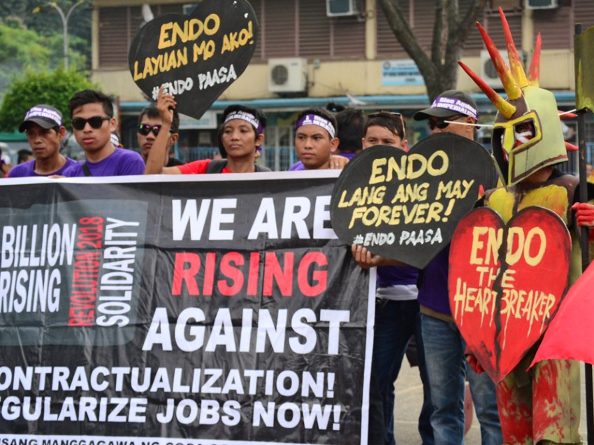 Duterte's 'heartless' for rejecting EO vs 'endo'