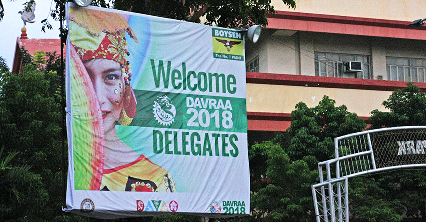 Welcomed in Davao: Thousands to arrive city for DAVRAA