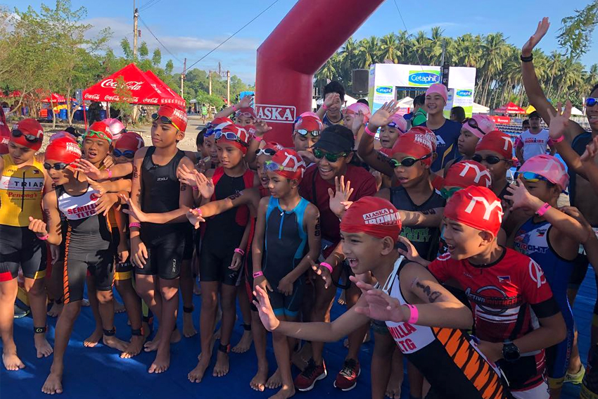 300 kids raced in IronMan 70.3 Davao opener