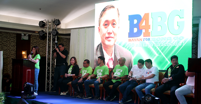 Bong Go for Senator Movement launched in Davao