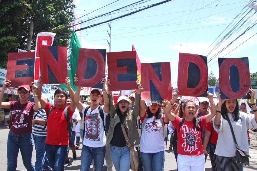 Labor groups hit Duterte's veto of security of tenure bill