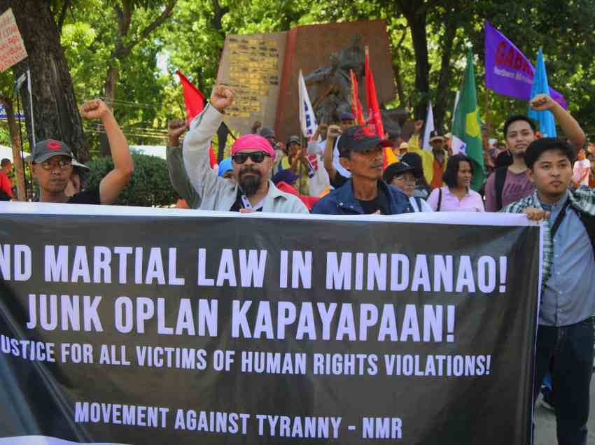 Marawi siege anniversary met with protest in CDO