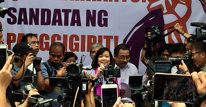 High Court rules with finality on ouster of former Chief Justice Sereno