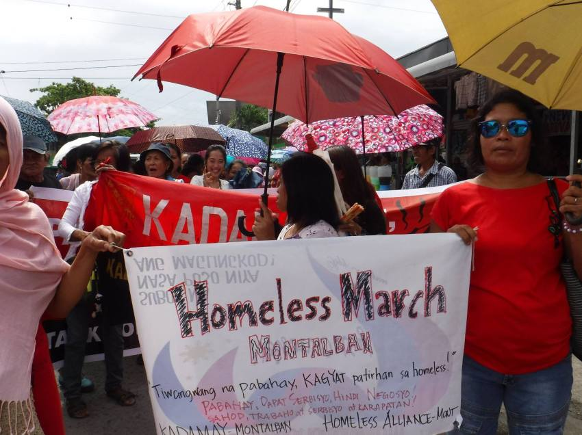 Kadamay to Duterte: Political repression to spur more actions of poor, homeless Filipinos