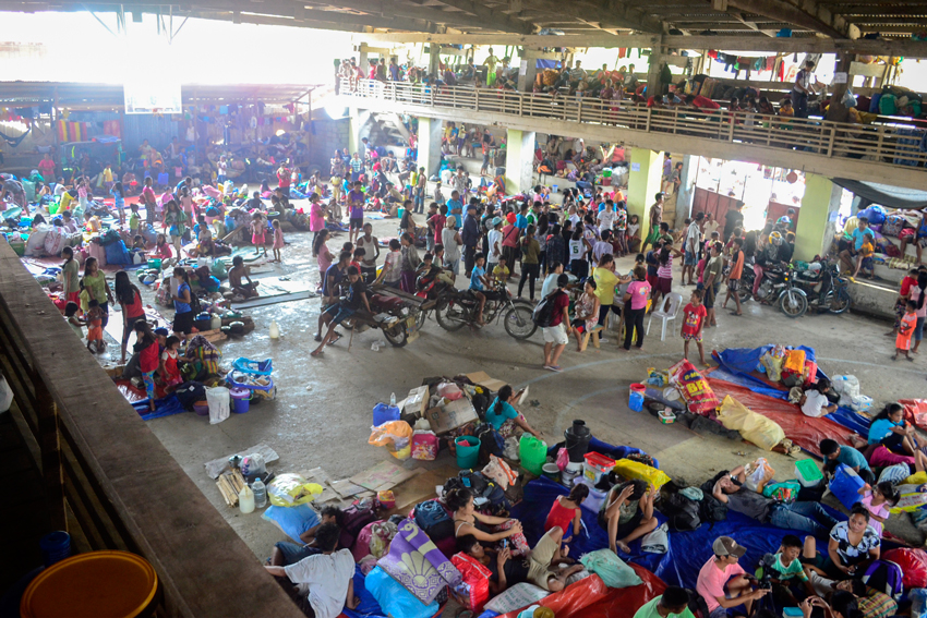 "Lumad evacuees scoff at military for calling evacuation ""orchestrated"""