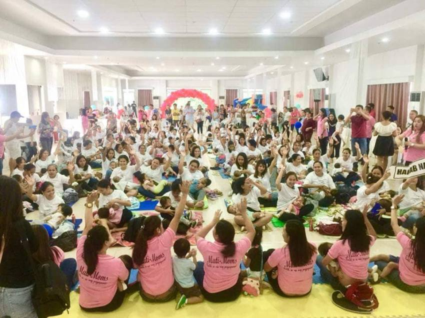 96 moms join first 'Hakab Na!' in Mati City