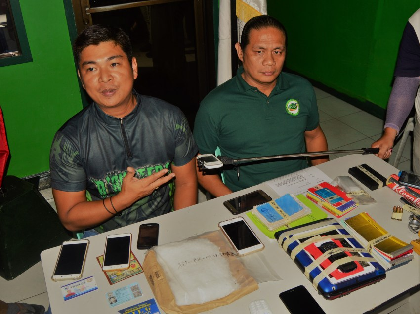 PDEA: P3.4M alleged shabu seized from Lanao LGU officials in Iligan City raid