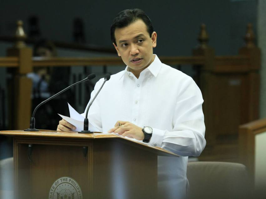 Trillanes shows evidence after revocation of amnesty, talks of court martial
