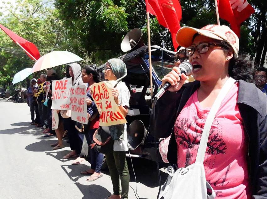 Militant solon blames DOLE for 'bloody dispersal' against striking Sumifru workers in ComVal