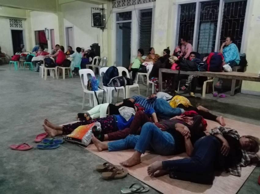 Striking Sumifru workers seek sanctuary in Compostela church
