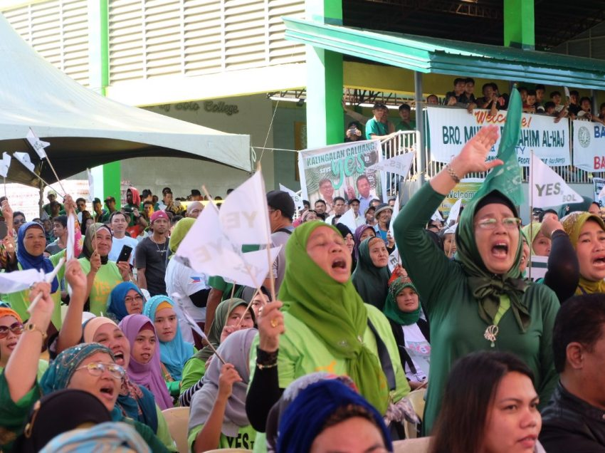 Jan. 21 plebiscite day on BOL declared a non-working holiday in ARMM