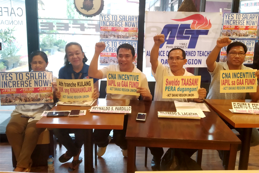 Teachers call for substantial wage hike anew