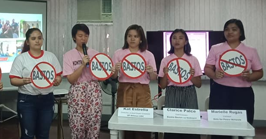 Women's group on Bato's campaign stunt: 'crass, sexist, misogynist'