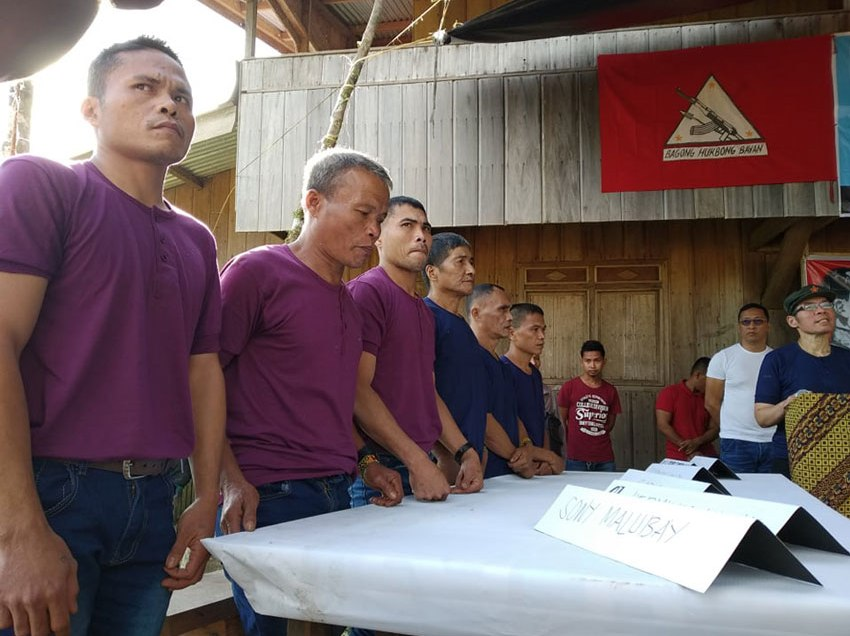 NPA frees 6 militiamen in Agusan Sur