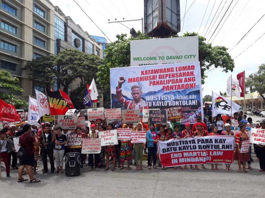 Lumad, peasant groups unite to defend Pantaron Range