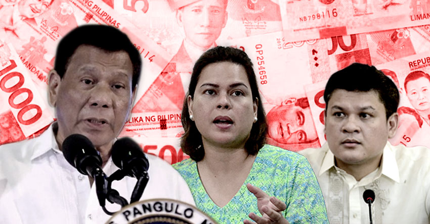 PCIJ REPORT| Duterte, Sara, Paolo mark big spikes in wealth, cash, while in public office
