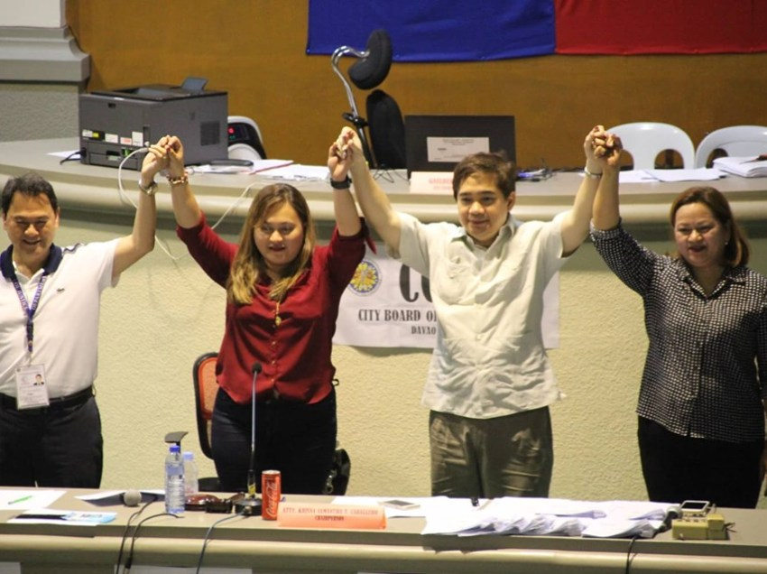 Winners in 2 districts of Davao City proclaimed by Comelec