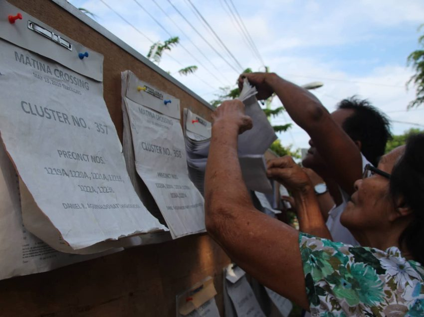 Comelec says election process in Davao City successful