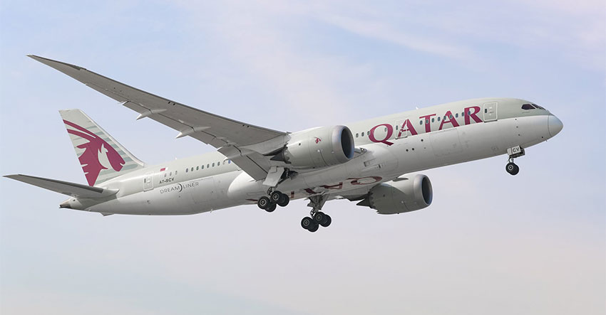 Qatar airways opens Doha-Davao flight