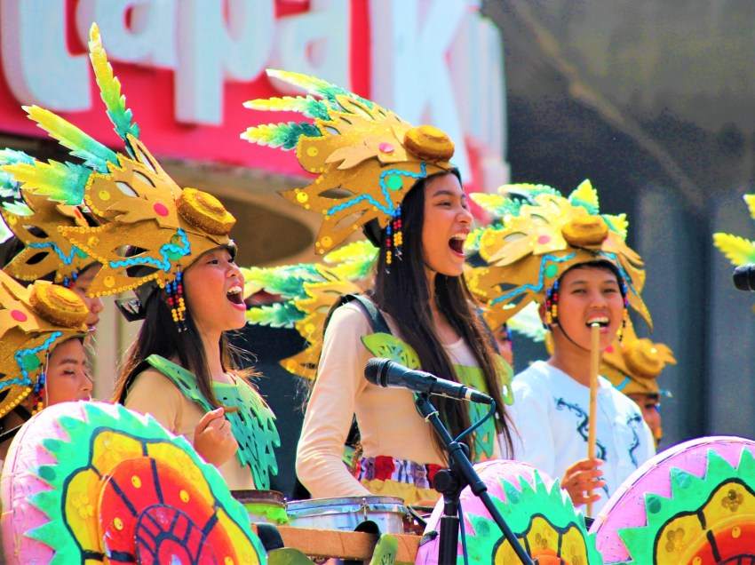 IN PHOTOS | Stunning floral floats, artistic music in Pamulak and Pitik sa Kadayawan