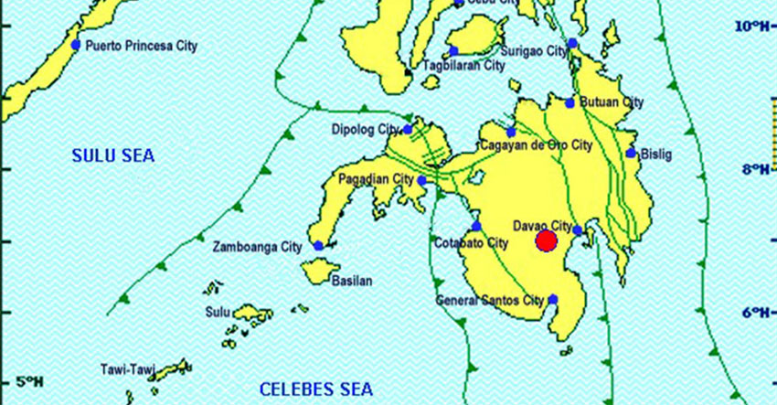 Quake again rocks Mindanao